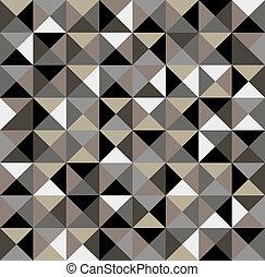 résumé, pattern., géométrique, seamless