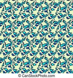 résumé, pattern., tourbillons, seamless