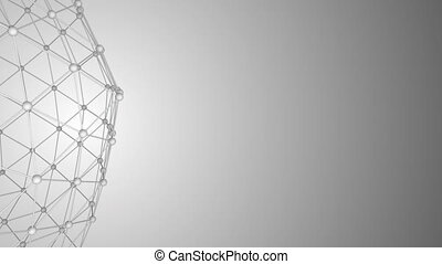 résumé, réseau, fond, surface