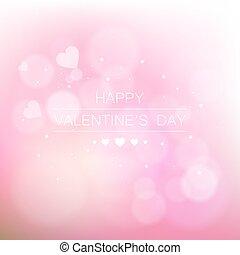 résumé,  s, jour, fond, valentin