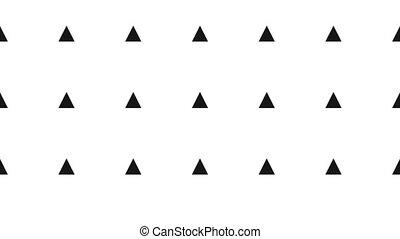 résumé, seamless, mouvement, arrière-plan., engendré, informatique, géométrique, surface., boucle