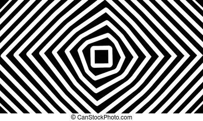 résumé, spirale, boucle, parfait, fond, tourner, mouvement, seamless, hypnotique