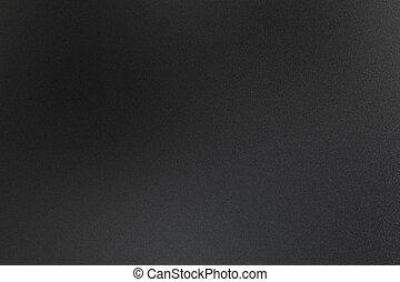 résumé, texture, métallique, arrière-plan noir, rugueux