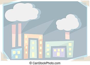 résumé, usines, polluer