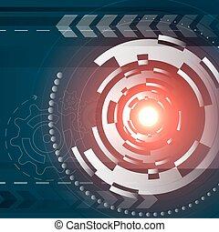 résumé, vaisseau spatial, circulaire