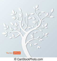 résumé, vecteur, arbre