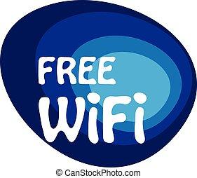 résumé, vecteur, gratuite, wifi