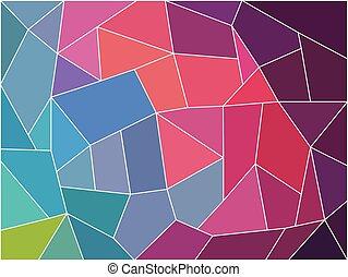 résumé, vecteur, image, fond, géométrique