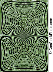résumé, vert, 3