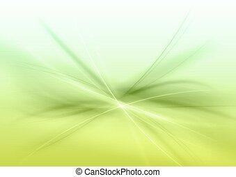 résumé, vert