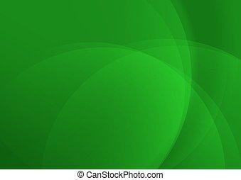 résumé vert, conception, fond