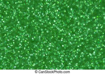 résumé vert, scintillement, noël, fond