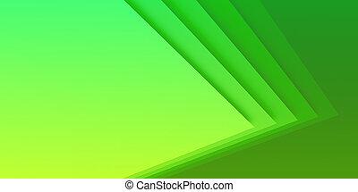 résumé vert, technologie