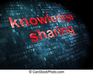 részesedés tudás, háttér, digitális, oktatás, concept: