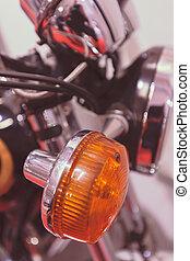 részletek, motorkerékpár