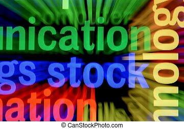 részvény, online, fogalom