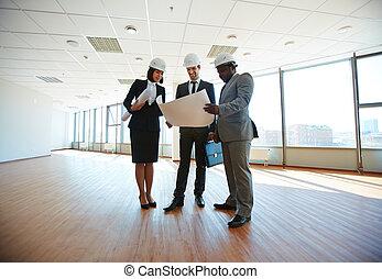 réunion, architectes