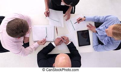 réunion, businesspeople