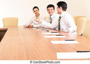 réunion, fonctionnement