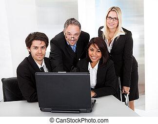 réunion, groupe,  Business, gens