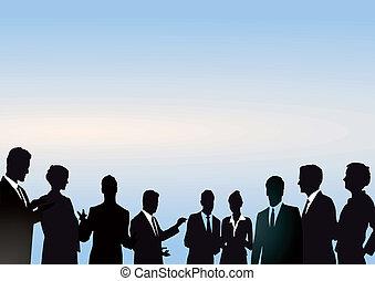 réunion, groupe