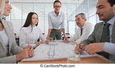 réunion, ingénieurs