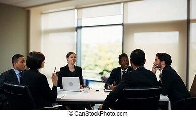 réunion, professionnels, avoir