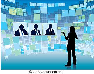 réunion, virtuel