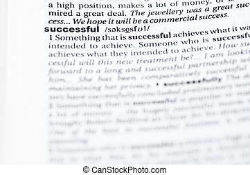 réussi, définition