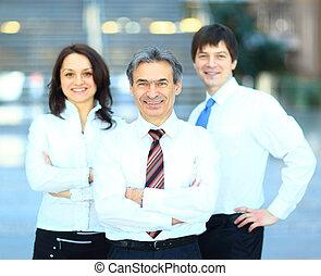 réussi, groupe,  Business