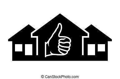 réussi, immobiliers, transactions