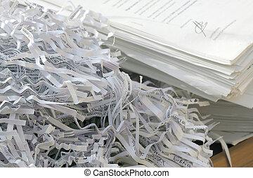 réutilisation papier