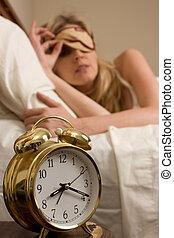 réveiller, temps
