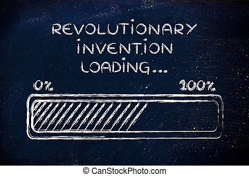 révolutionnaire, barre, chargement,  Illustration,  invention, Progrès