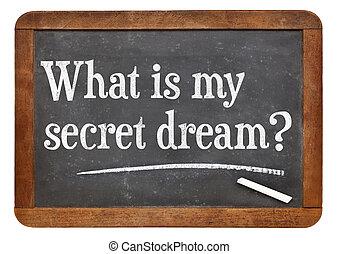 rêve, quel, mon, top secret, ?