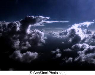 rêveur, nuages