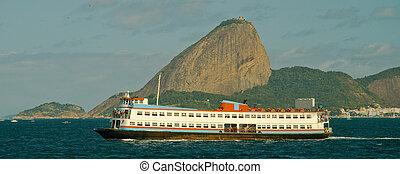 río, barco, niteroi, ''barca'', transbordador
