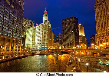 río, chicago, caminata