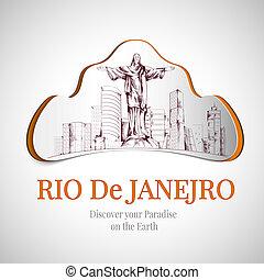 río de janeiro, ciudad, emblema