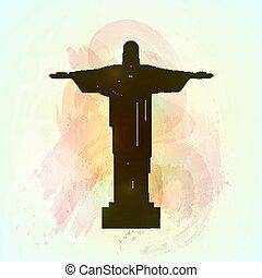 río de janeiro, jesucristo, el, redentor, statue.