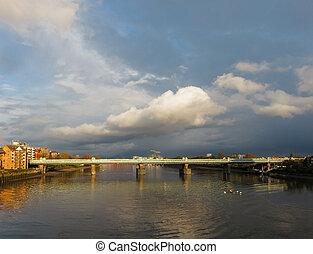 río de thames, londres