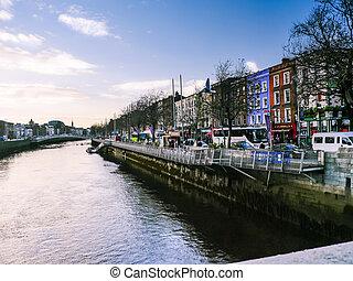 río, dublín, vista