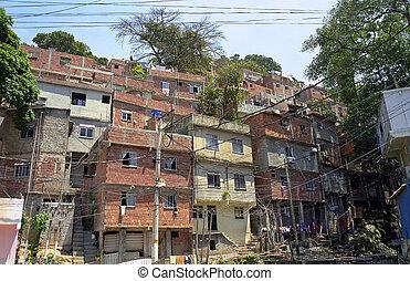 río, janeiro, de, favela
