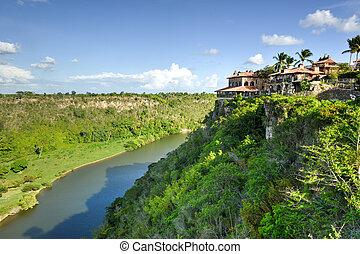río, república, chavon, dominicano