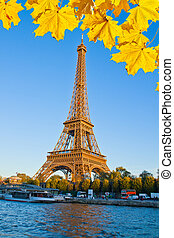 río, torre, jábega, eiffel, francia