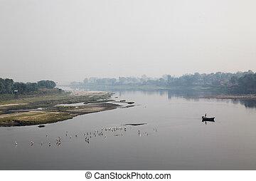 río yamuna, agra