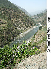 río yamuna, valle