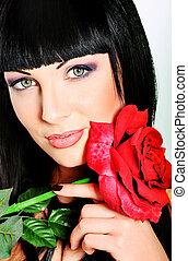 róża, piękno