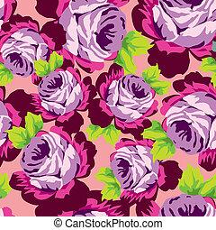 róża, seamless, próbka