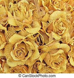 róża, tło